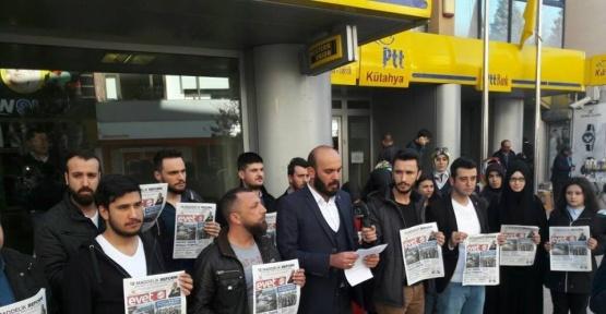 Kütahyalı gençler, Kemal Kılıçdaroğlu'na 'Evet' gazetesi gönderdi
