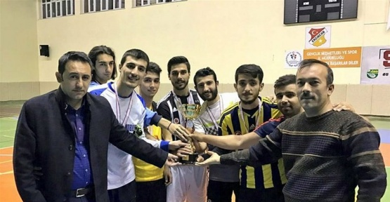 KYK Futsal müsabakaları sona erdi