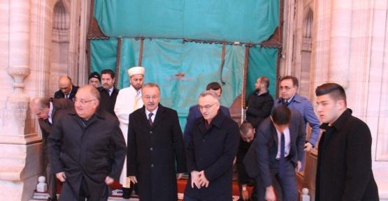 Maliye Bakanı Ağbal Edirne'de