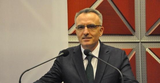 Maliye Bakanı Naci Ağbal, Gebze Ticaret Odasını ziyaret etti