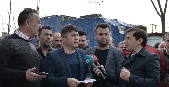 Maltepe Pazarı esnafları Havagazı Fabrikası'nın yıkılması istiyor