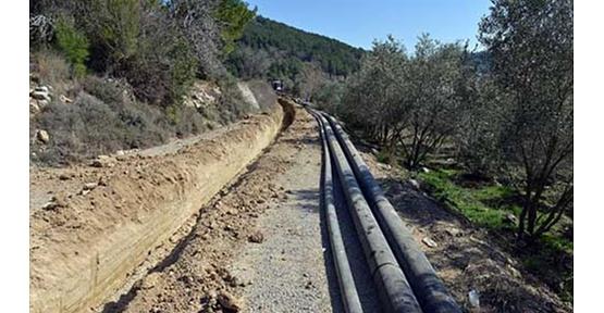 Manavgat'ta İçme Suyu Hatları Yenileniyor