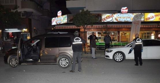 Manavgat'ta silahlı saldırı: 2 yaralı