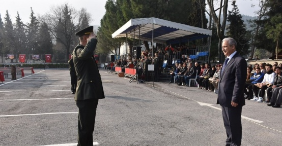 Manisa'da kısa dönem jandarma erler yemin etti