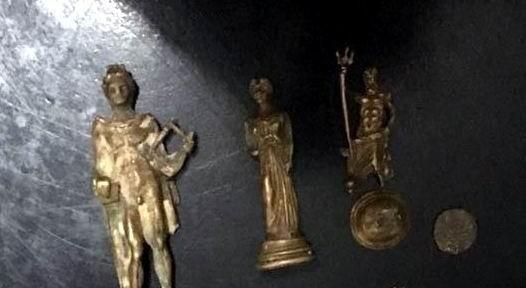 Manisa'da tarihi eser operasyonu