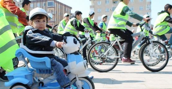 Mardin'de bisiklet turu etkinliği