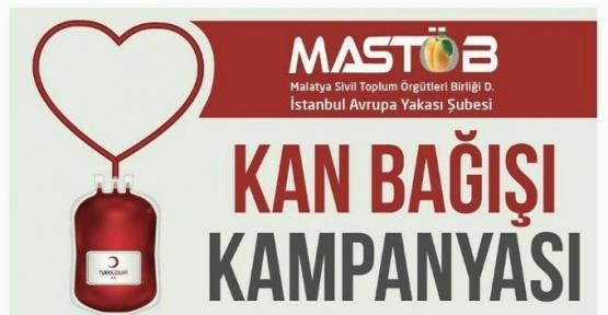 MASTÖB kan bağışı kampanyası başlattı