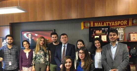 MASTÖB'lü gençler Ağbaba'yı ziyaret etti