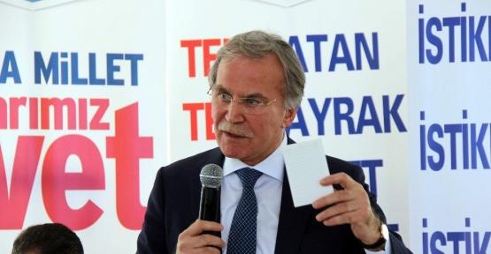 """Mehmet Ali Şahin: """"Kılıçdaroğlu kendi koltuğunu korumak için 'Hayır' diyor"""""""