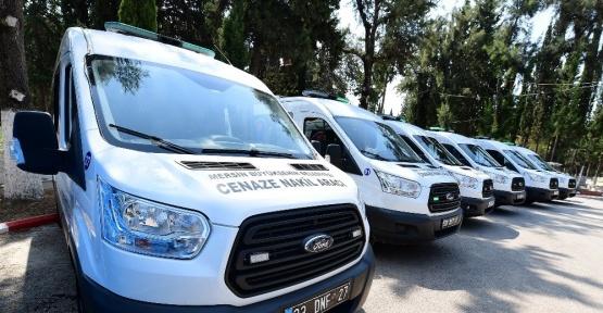 Mersin Büyükşehir Belediyesi'nden uçakla cenaze nakil hizmeti