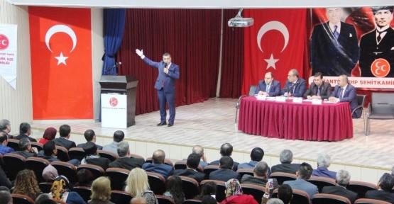 MHP Şehitkamil İlçe kongresi başladı