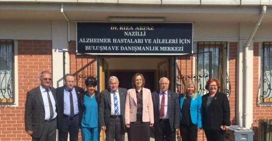 MHP'li Deniz Depboylu, Nazilli'de ziyaretlerde bulundu