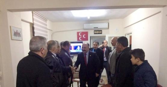 """MHP'li Usta: """"Türkiye için 'evet' diyoruz"""""""