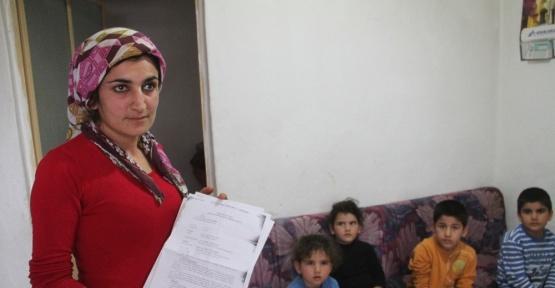 Milas'ta şiddet mağduru aile yardım bekliyor