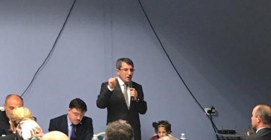 Milletvekili Serdar, gurbetçilerle bir araya geldi