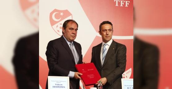 Milli Takım ile Arçelik arasında ana sponsorluk anlaşması imzalandı