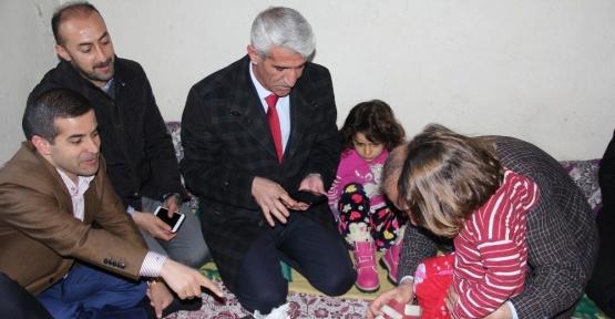Müdür Bildirici'den şehit ailelerine ziyaret