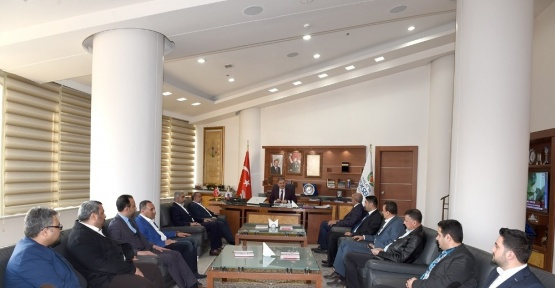 MÜSİAD yönetiminden Başkan Çakır'a ziyaret