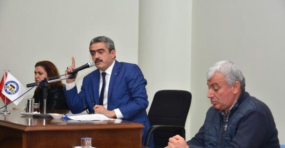 Nazilli Belediye Meclisi Mart ayı toplantısı yapıldı