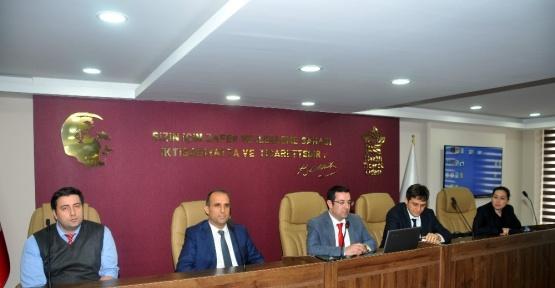 Nazilli'de imalat sanayisinin sorunları masaya yatırıldı