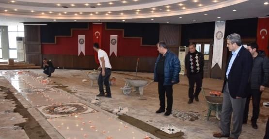 Nazilli'de Nikâh Salonu Yenileniyor