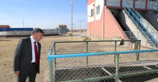 Niğde Belediyesi arıtma tesisi için düğmeye bastı