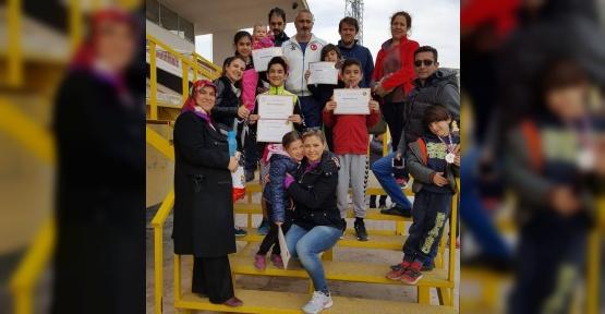 Okullar Arası Modern Pentatlon yarışları sona erdi