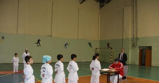 Oltu'da Taekwondo Kuşak Sınavı yapıldı