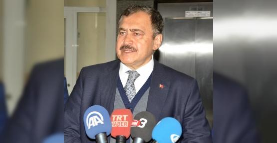 Orman ve Su İşleri Bakanı Prof. Dr. Veysel Eroğlu Çanakkale Deniz Zaferi'ni kutladı