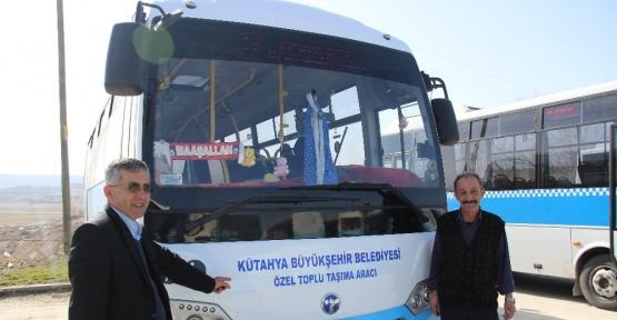 Otobüs şoförü, Kütahya'yı 'büyükşehir' ilan etti