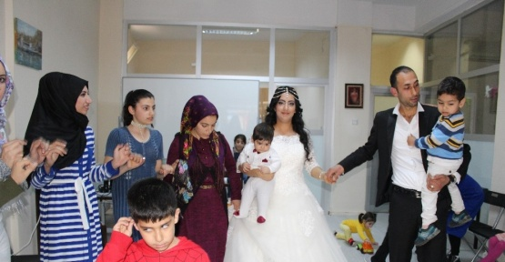 (Özel Haber) 25 kadın 1 düğün