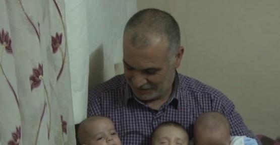 (Özel haber) Suriyeli aile üçüzlerine Cumhurbaşkanı Erdoğan'ın ismini verdi