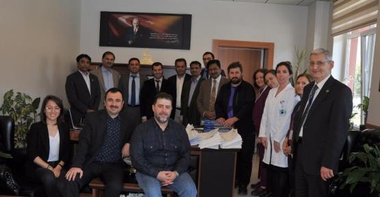 Pakistanlı heyet Balıkesir'de sağlık sistemini inceliyor