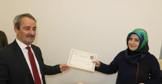 Petshop işletmecilerine sertifika