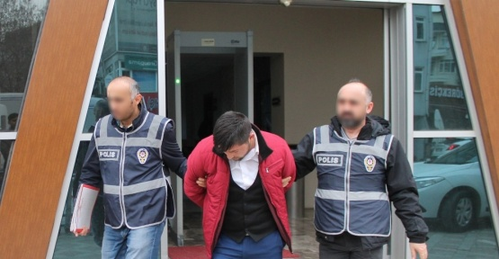 Pizzacı hırsızı tutukladı