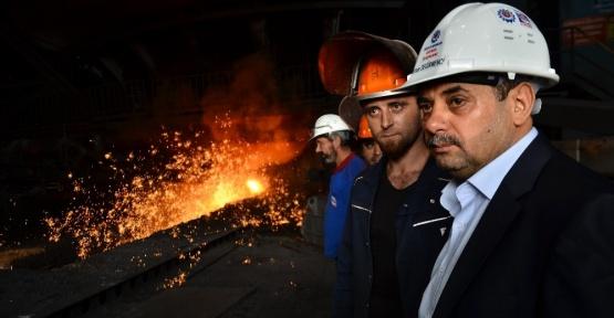 Referanduma Çelik-İş'ten destek