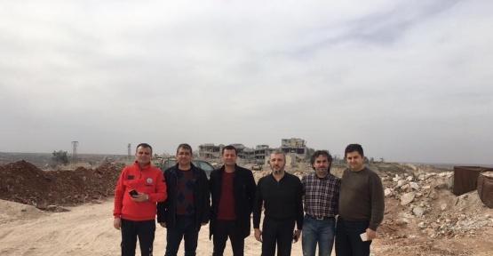 Sağlık Bakanlığı heyeti El Bab'da