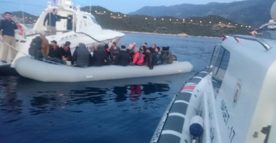Sahil Güvenlik Komutanlığı 1 haftada 230 göçmeni yakaladı