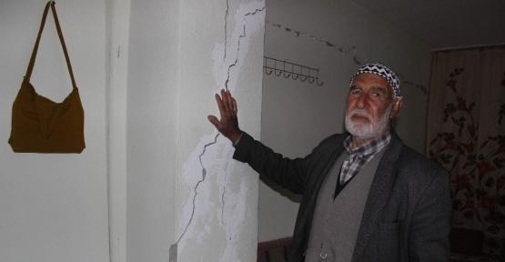 Samsat Depremde ağır hasar gördü