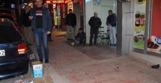 Samsun'da bıçaklı kavga: 2'si polis 3 yaralı