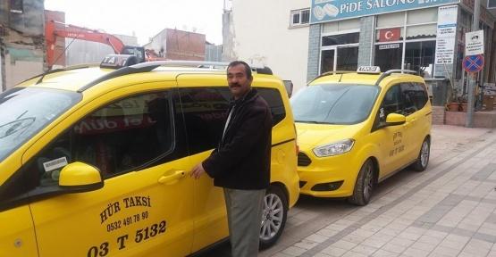 Sandıklı'da ticari taksiler ÖTV indiriminden sonra yenilendi