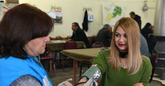 Satılmışoğlu Mahallesinde sağlık taraması