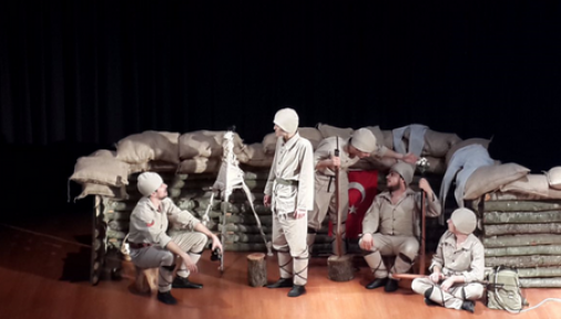 Seddülbahir Yahya Çavuş, bu gün Karaman'da sahnelenecek