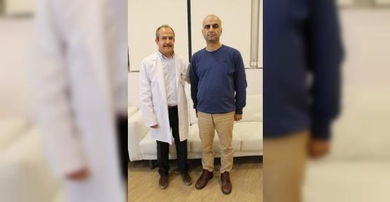Şeker hastası genç adam ilealinterpozisyon ameliyatıyla iyileşti
