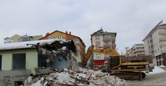 Seydişehir'de eski Sağlık Meslek Lisesi binasının takas işlemleri başlatıldı