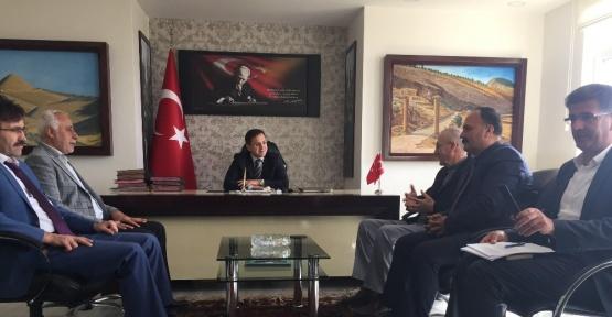 Sincik ilçesinde İmam Hatip Platformu yönetimi ve üyeleri toplandı