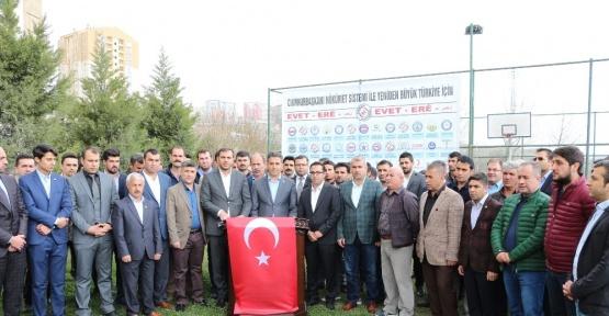Şırnak'ta 44 STK referandumda 'Evet' diyeceklerini açıkladı