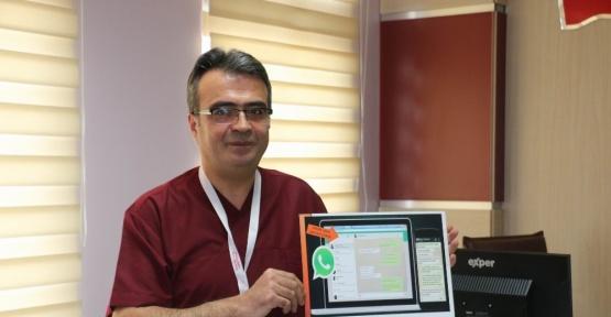 Sivas'ta WhatsApp ile diş tedavisi randevu hizmeti