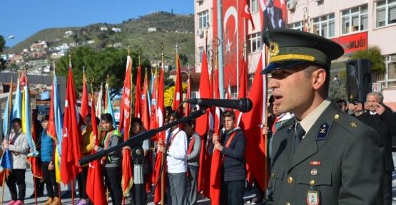 Söke'de Çanakkale şehitleri anma töreni