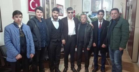 SP Melikgazi Gençlik Kolları'ndan Gaziler ve Şehitler Derneği'ne Ziyaret